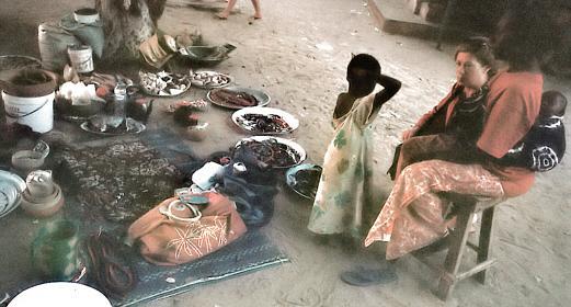 auf dem Markt von Gorée