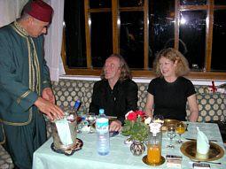 Thalheim und Pacalet im EL MINZAH Restaurant