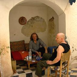 Europäisches Akkordeonistentreffen in Marrakech: Pacalet, Leuchter im Er-leuchter-haus